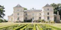 Le château et son jardin à la français, au coeur du vignoble de Bonnezeaux.