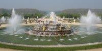 Château de Versailles parc fontaines