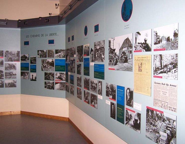 Le Musée de la Percée du Bocage, Pays de Vire, Calvados, Normandie