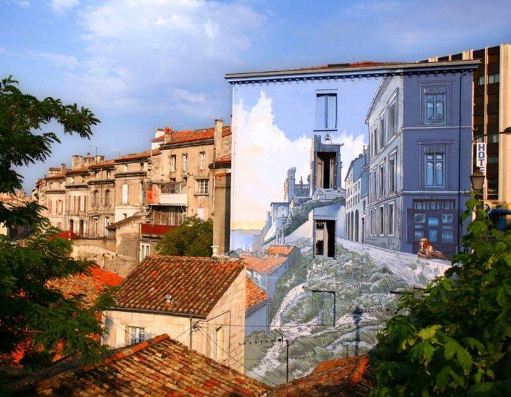 Mur peint d'Angoulême