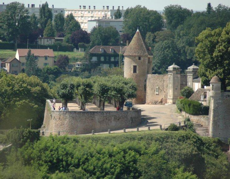 Les terreaux de la petite porte, ville d'Avallon