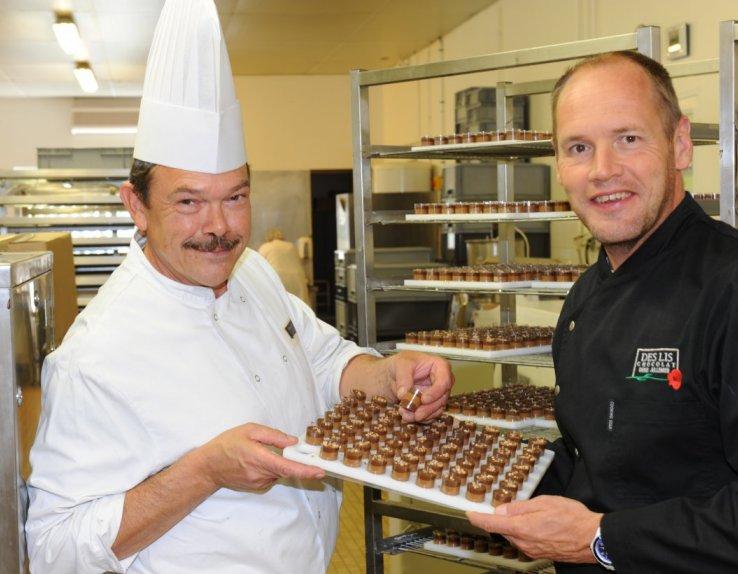 Notre Chef chocolatier et notre Directeur créent, réinventent toujours dans un soucis de satisfaire notre clientèle