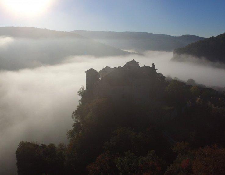Vue Châteaux de Bruniquel