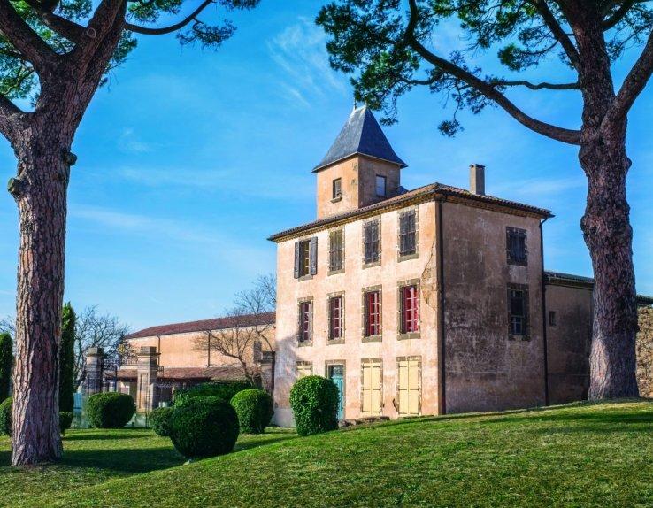 """Batisse du XIXème siècle : Chateau pignardier, autrement appelé """"Folie Languedocienne"""""""