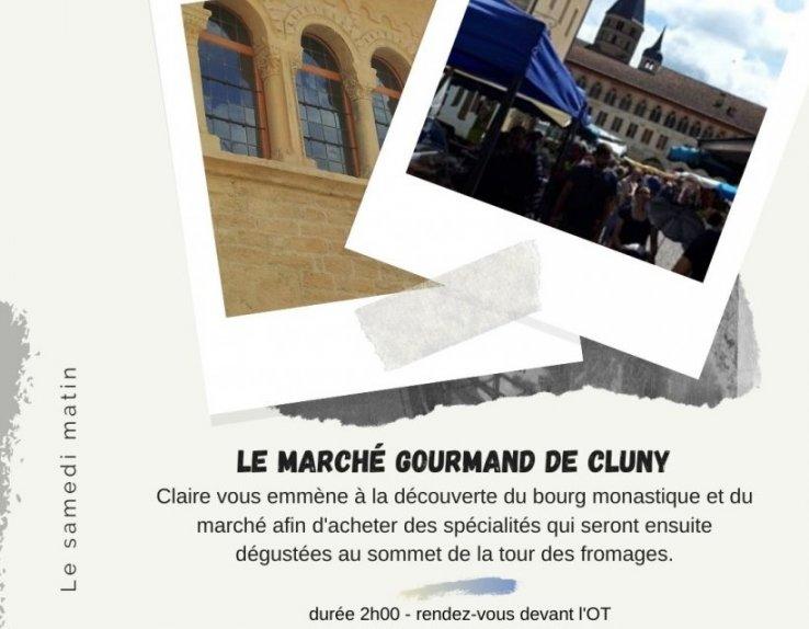 marché gourmand de Cluny