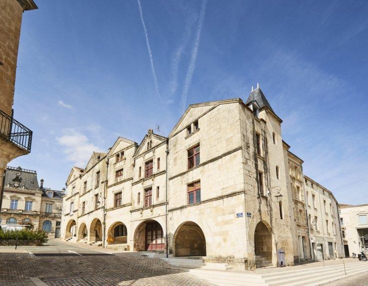 Place Belliard Fontenay-le-Comte - ©A. Lamoureux