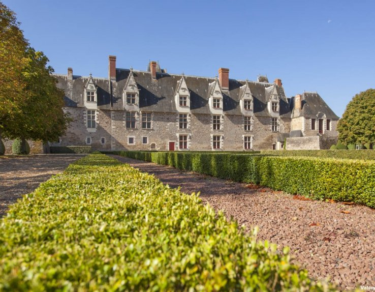 Château de Goulaine vue jardins