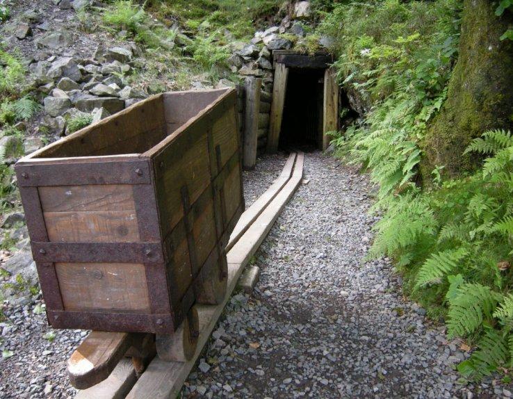 Les Hautes-Mynes - Mine St Thomas