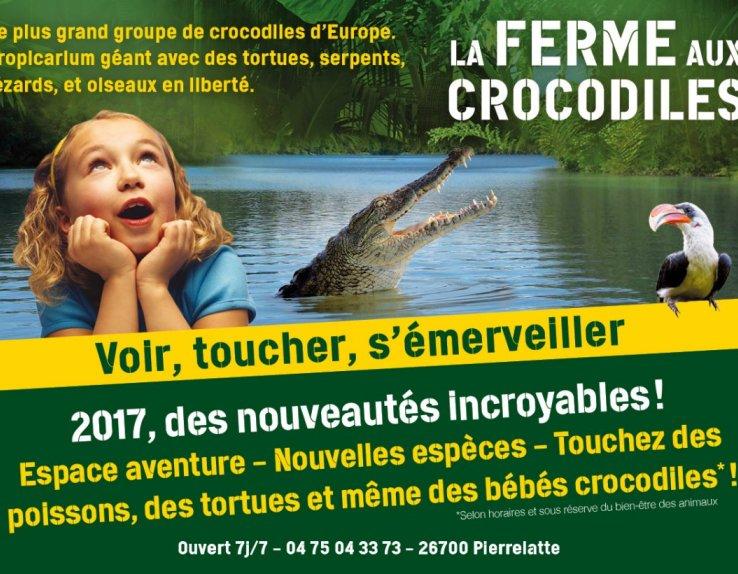 La Ferme aux Crocodiles Pierrelatte