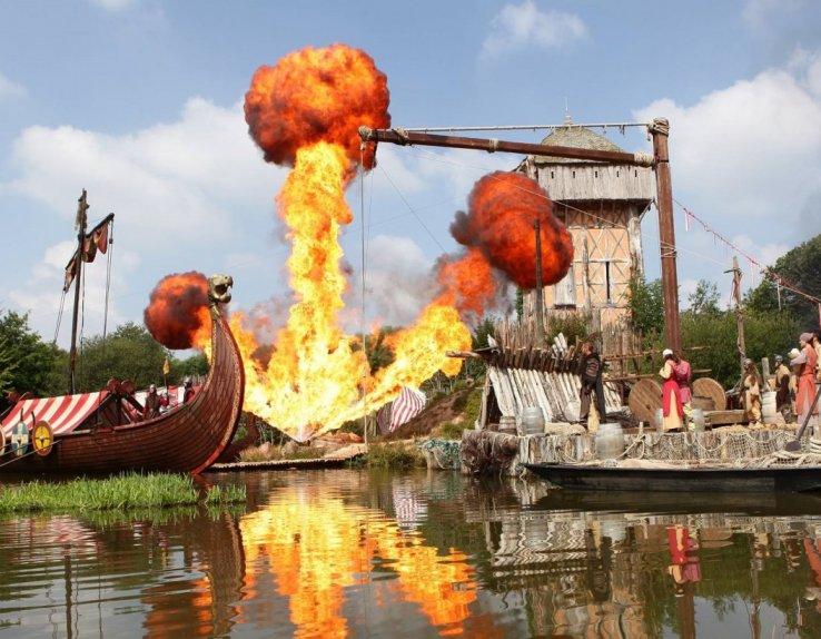 Les Vikings puy du fou