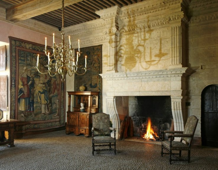 Cheminée Château de Losse thonac
