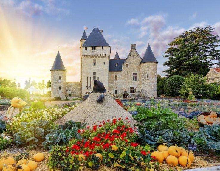 Chateau et jardins du Rivau
